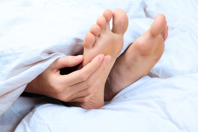 Itchy in the sole of foot