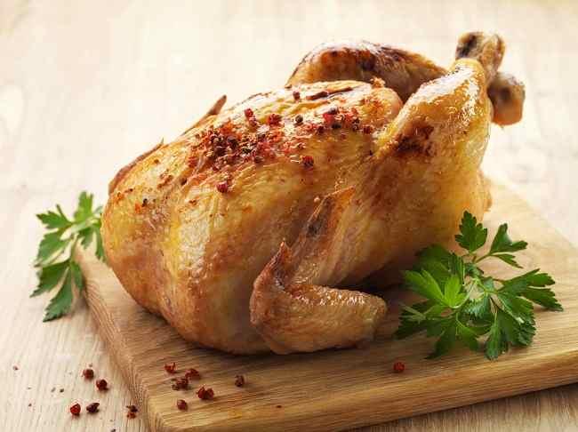 skin of chicken