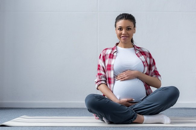 Pregnancy exercise for breech baby