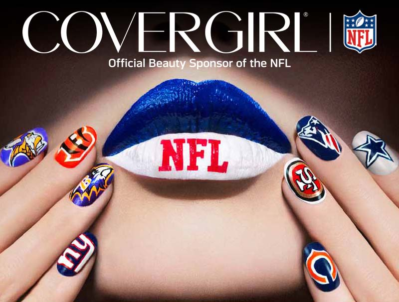 Cover girl football nails