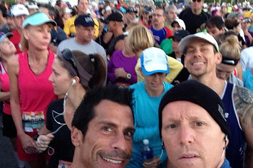 Celebrities running 2014 boston marathon