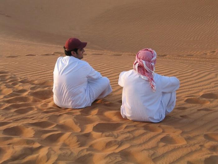 Одежда арабов белая