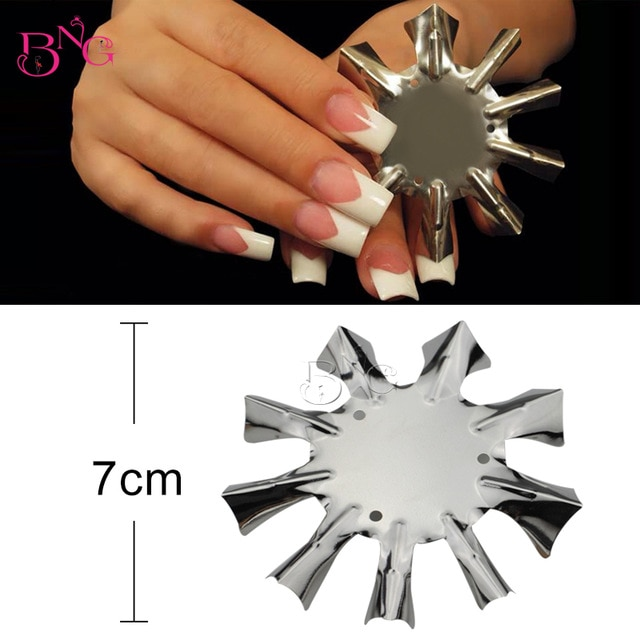 Smile line cutter nails
