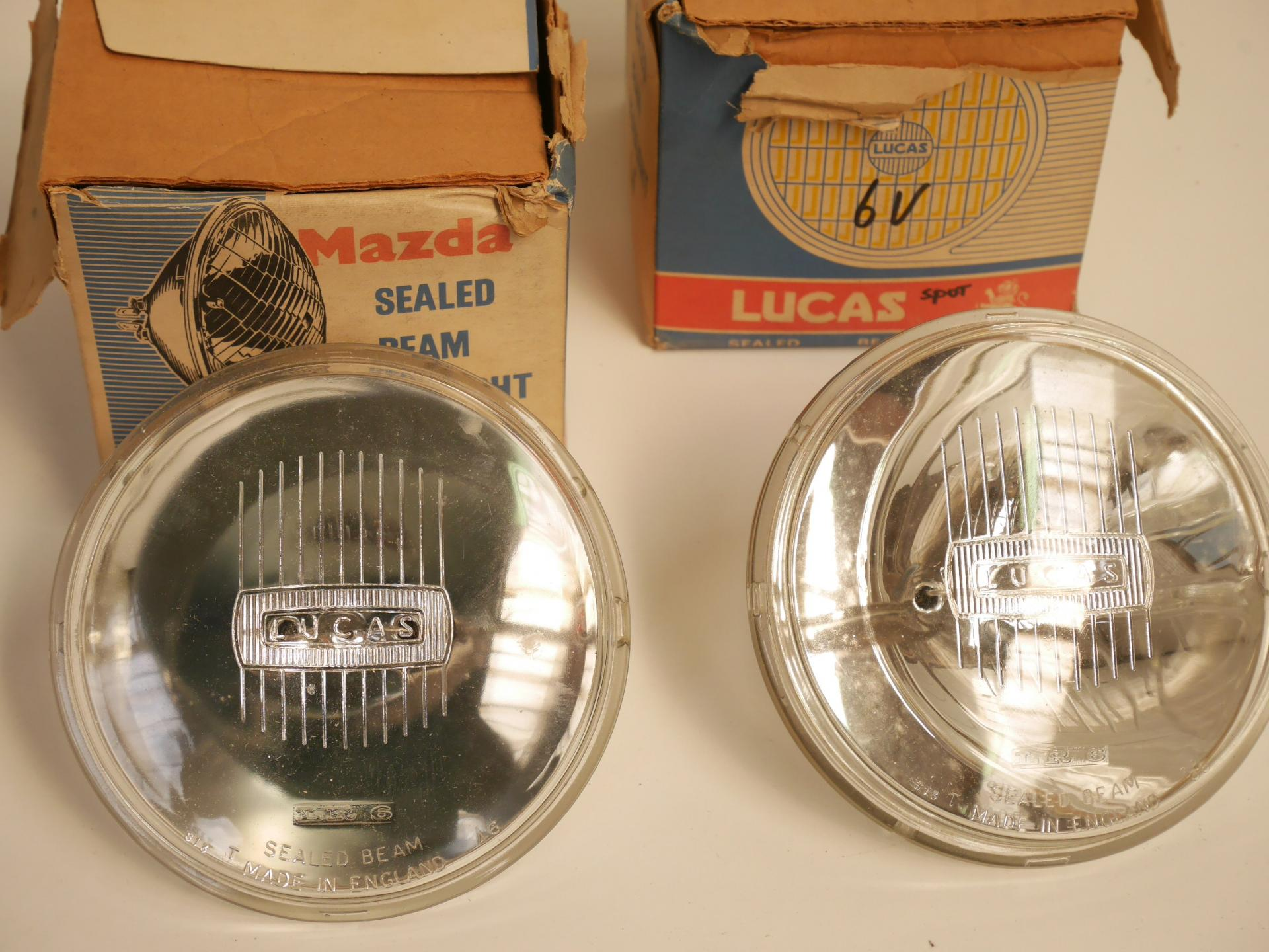 Lucas sealed beam units
