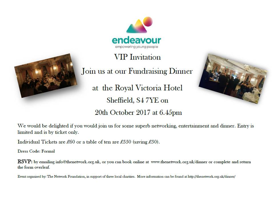 The Network Foundation Fundraising Dinner