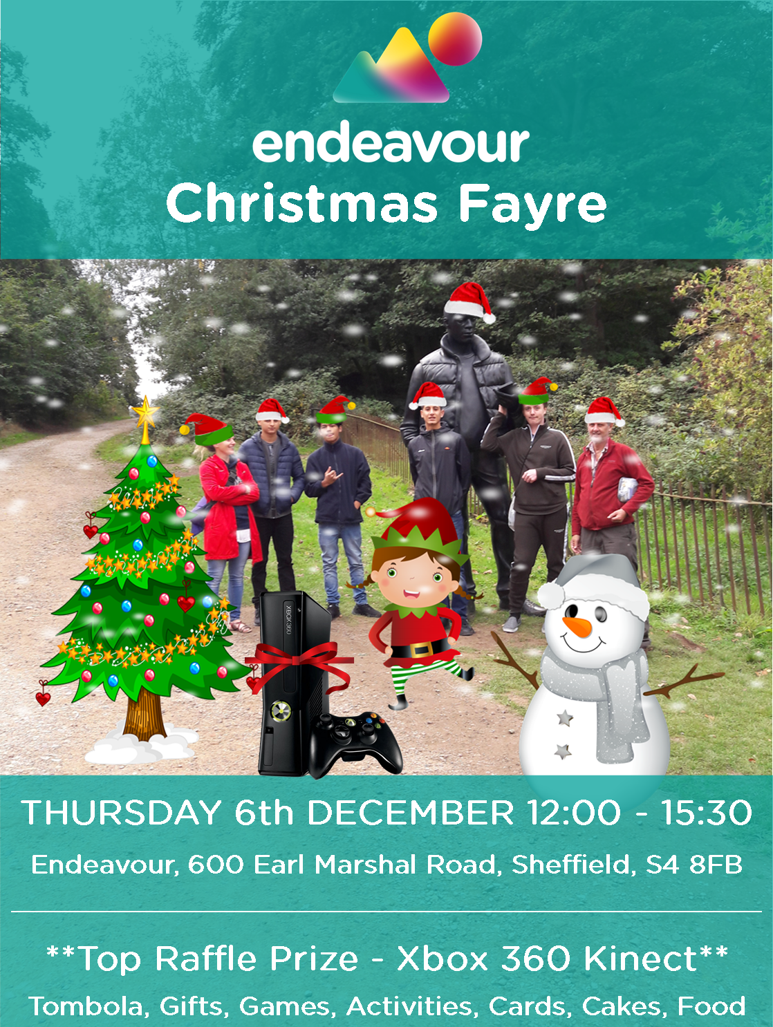 The Endeavour Christmas Fayre
