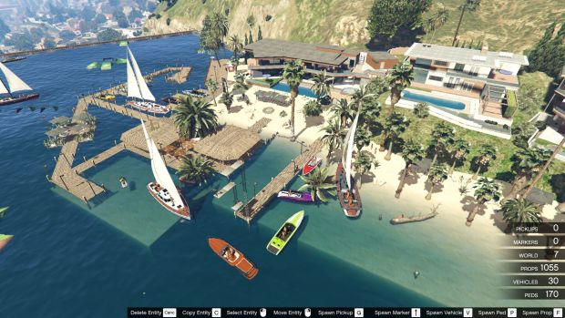 GTA 5 - Franklin's Lake Party | <alebal web Blog>