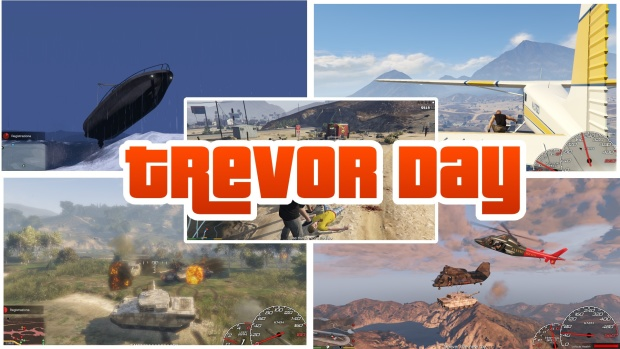 GTA 5 - Trevor Day Missions pack | <alebal web Blog>