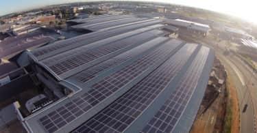 Vukile, Solar panel installation at East Rand Mall