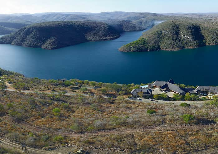 A beautiful view of the Jozini Dam, situated in Kwa-Zulu Natal.