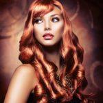Rihanna golden brown hair