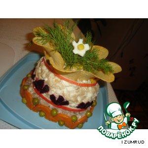 Рецепт: Салат Для милых дам