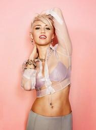Голая актриса, певица Miley Cyrus фото, эротика, картинки - фотосессия из мужского журнала GQ на Xuk.ru! Фото 48