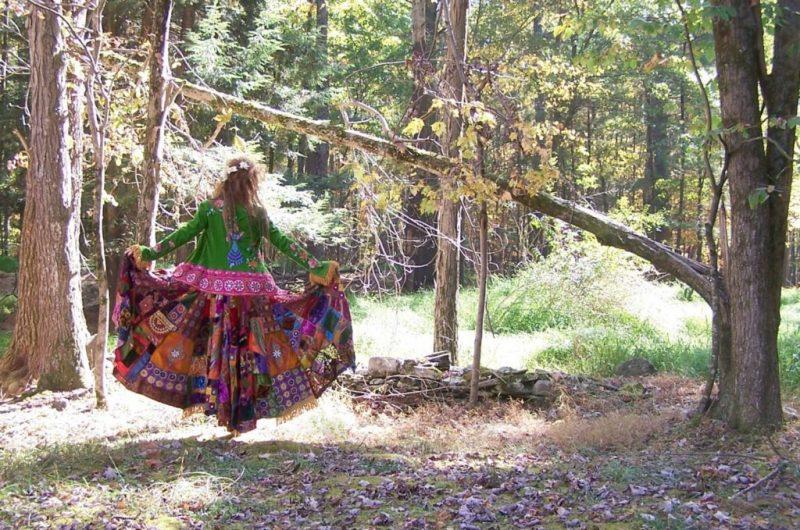 Как сшить платье в стиле бохо без выкройки своими руками