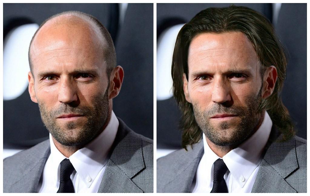 Джейсон стэтхэм с волосами