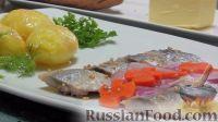 Фото к рецепту: Селёдка в прозрачном маринаде