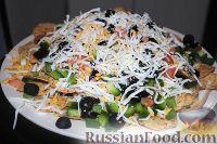Фото к рецепту: Мексиканская закуска или чипсы Начос