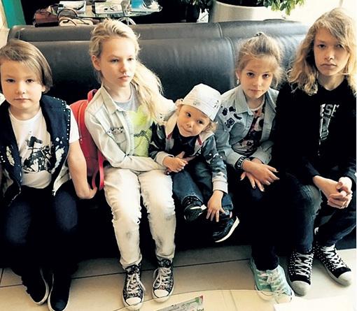 Дети от Эльги Сэпп