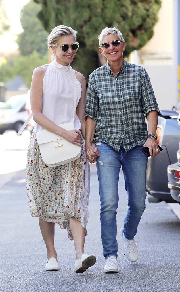 Latest news about ellen degeneres and portia