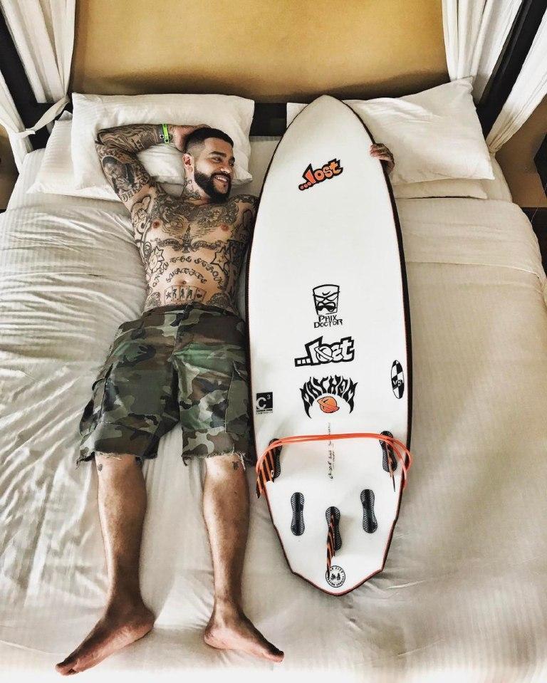 Татуировки знаменитостей мужчин