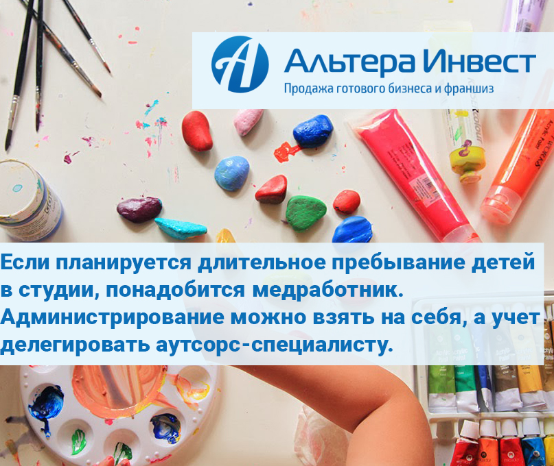 Бизнес план детская студия