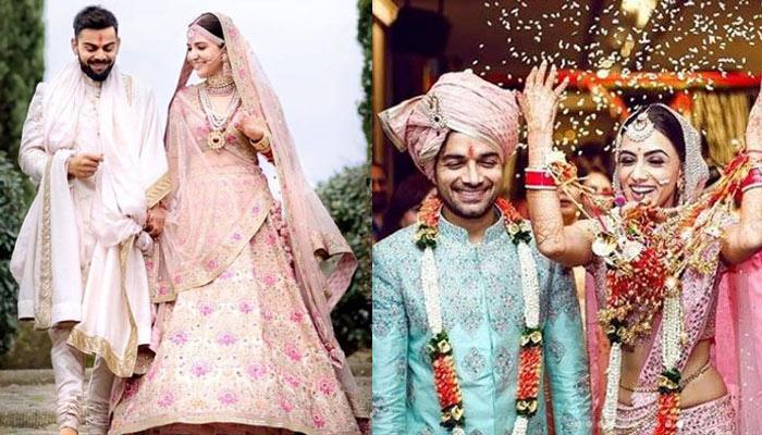 Newly married celebrities
