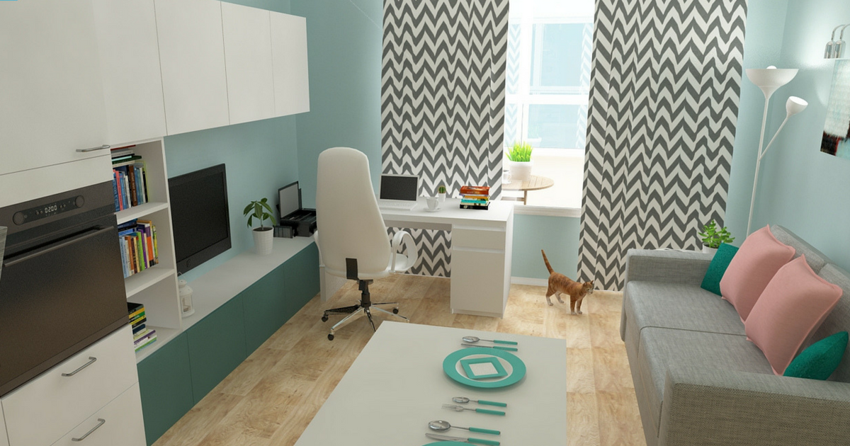 Онлайн планирование комнаты