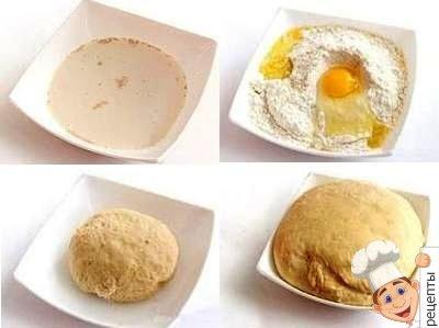 тесто для пирожков с сосиской в духовке