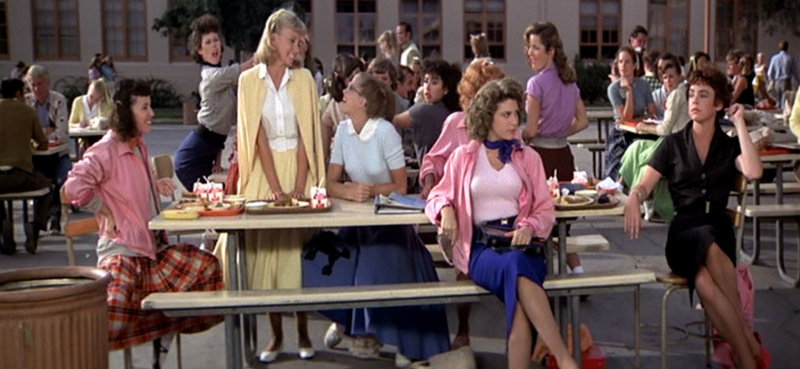 Pink ladies grease marty