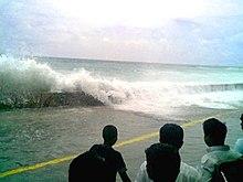 Zdjecia z tsunami