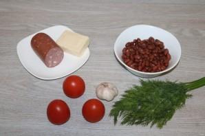 Обжорка салат с фасолью рецепт