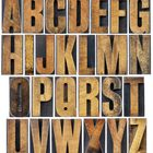 How to hang wooden letters on wall without nails