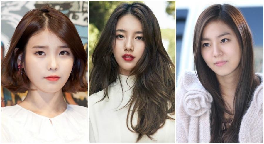 Korean celebrities hair