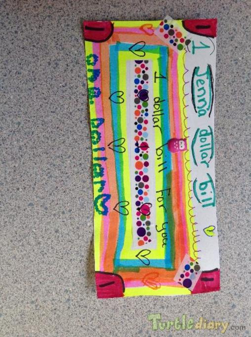 GO WES Jenna - Design Your Own Money Contest March 2015 Submission