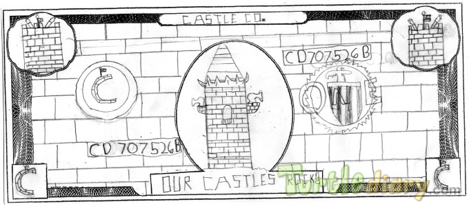 Castles Rock - Design Your Own Money Contest March 2015 Submission