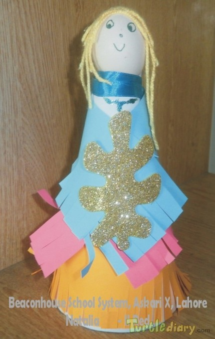Doll (Re-use of plastic bottle) - Earth Day Contest April 2015 Submission