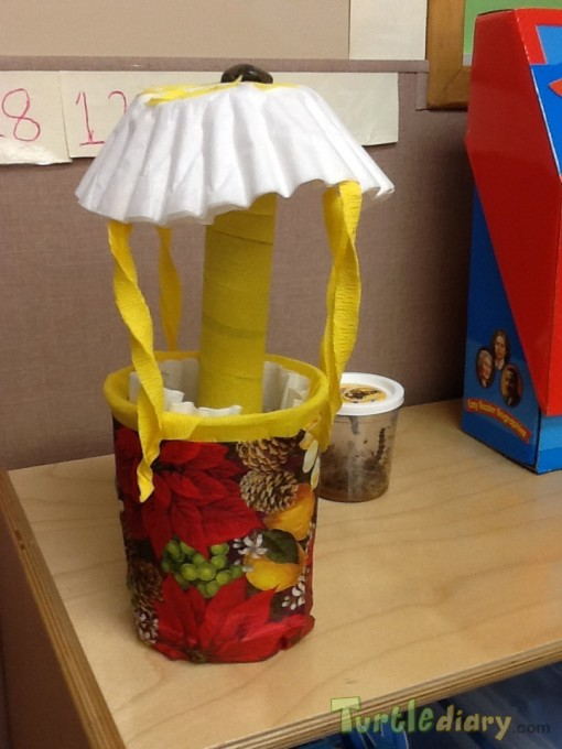 Recycled Lamp - Earth Day Contest April 2015 Submission