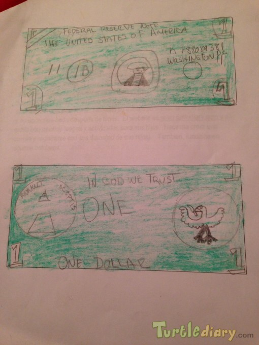 Super green dollar - Design Your Own Money Contest March 2015 Submission