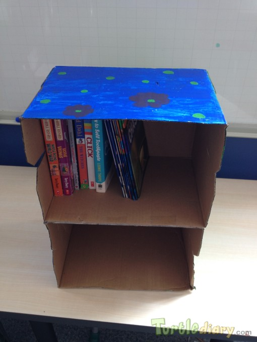 Earth shelf for books - Earth Day Contest April 2015 Submission