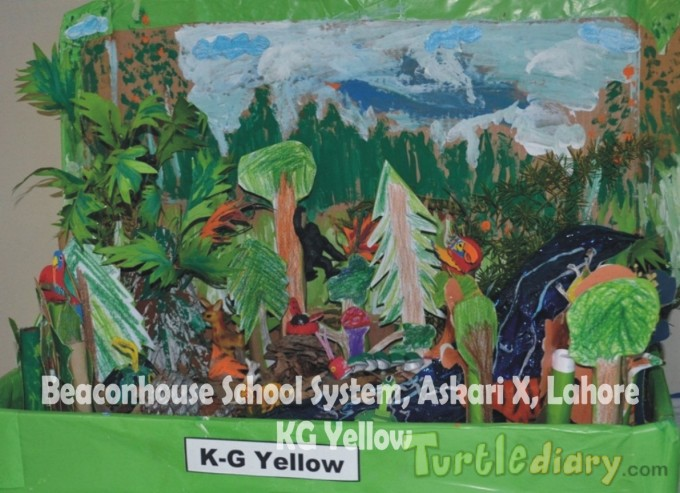 Diorama (KG Yellow) - Earth Day Contest April 2015 Submission