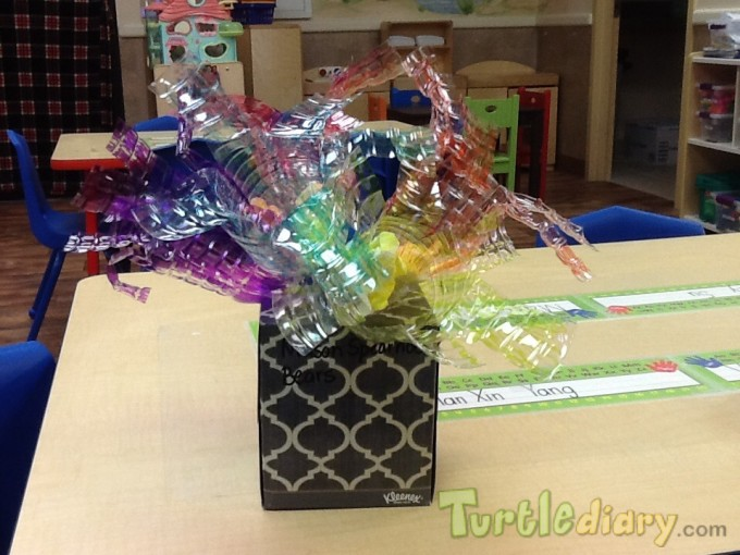 Water Bottle Flowers - Earth Day Contest April 2015 Submission