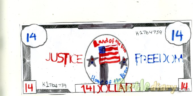 Justice Freedom - Design Your Own Money Contest March 2015 Submission