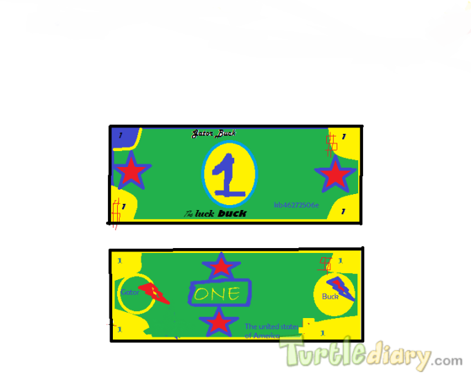 The Gator Luck Buck - Design Your Own Money Contest March 2015 Submission