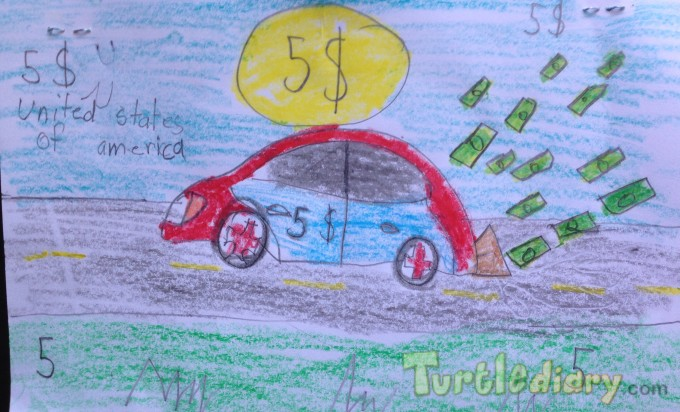 Rev up the money  - Design Your Own Money Contest March 2015 Submission