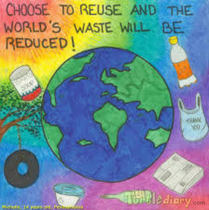 kashaf Islahuddin  - Earth Day Contest April 2015 Submission