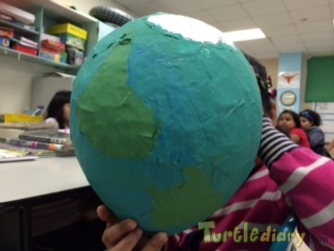 My Beautiful Earth-My Beautiful Treasure-Recycled Magazine - Earth Day Contest April 2015 Submission