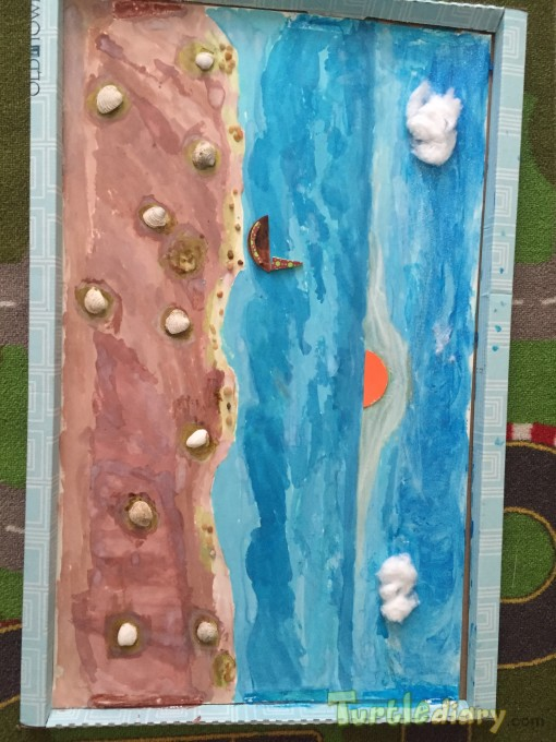 Beach Wall Decor - Earth Day Contest April 2015 Submission