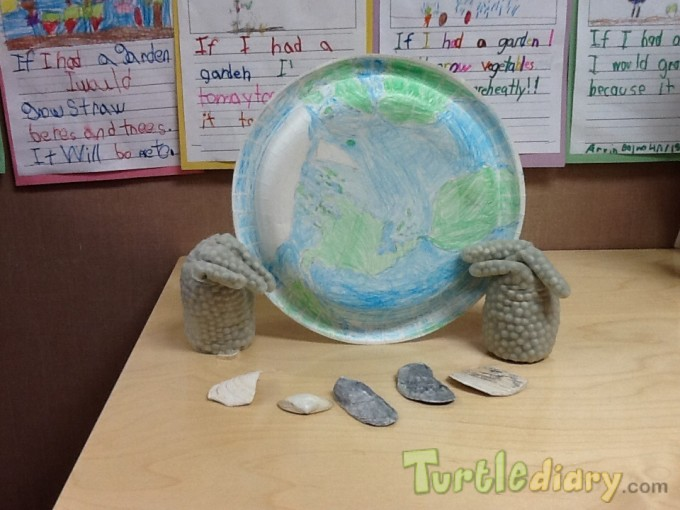 I have the world in my hands - Earth Day Contest April 2015 Submission
