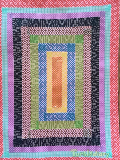 Reusable placemat made with colorful tape - Earth Day Contest April 2015 Submission