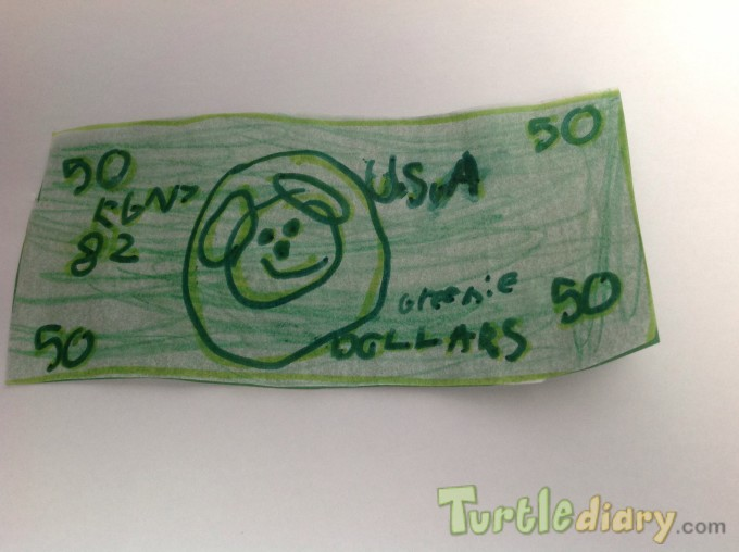 Greenie Money - Design Your Own Money Contest March 2015 Submission